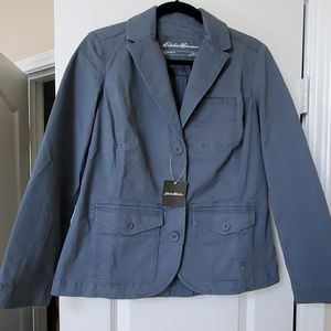 NWT Eddie Bauer Legend Wash Stretch Blazer